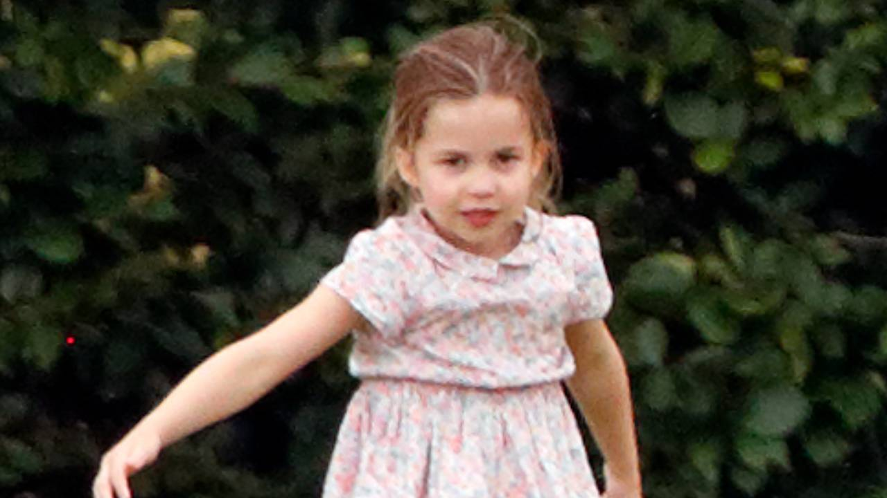 Princess Charlotte looks just like a young Queen Elizabeth in these new photos