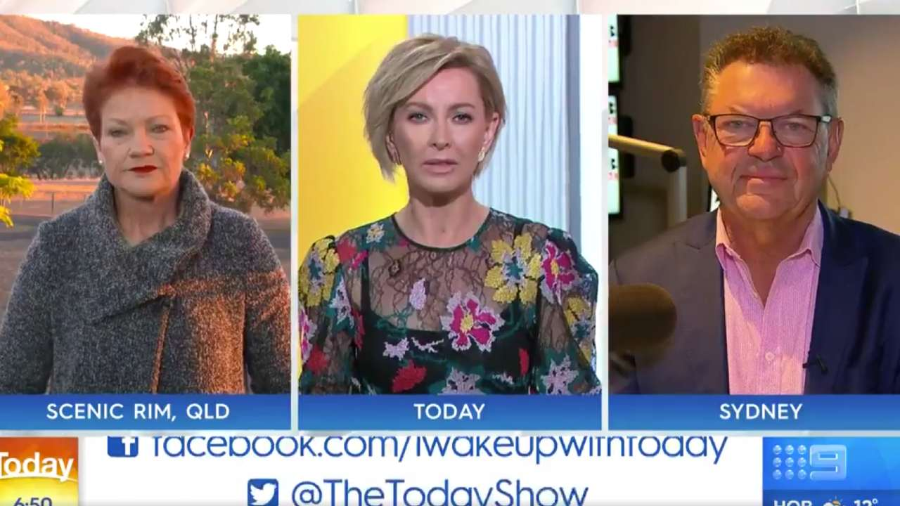 """How ridiculous"": Pauline Hanson and Today show panned over ""shameful"" Uluru debate"