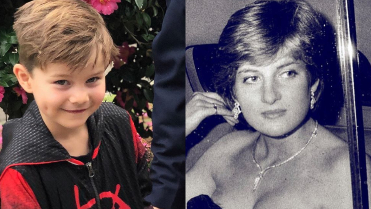 """David Campbell's chilling revelation about son who claims to be """"the reincarnation"""" of Princess Diana"""