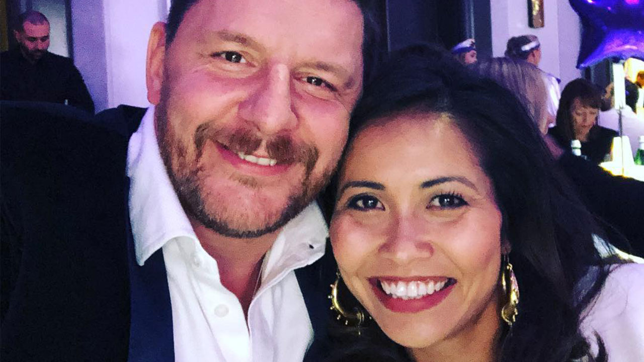 Fairy tale romance: The heartwarming story of how MKR's Manu Feildel met his wife