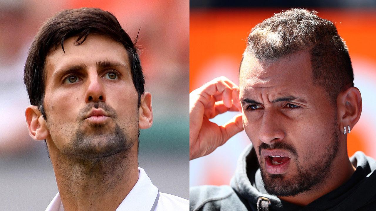 Did Novak Djokovic just reignite his feud with Nick Kyrgios? His subtle swipe