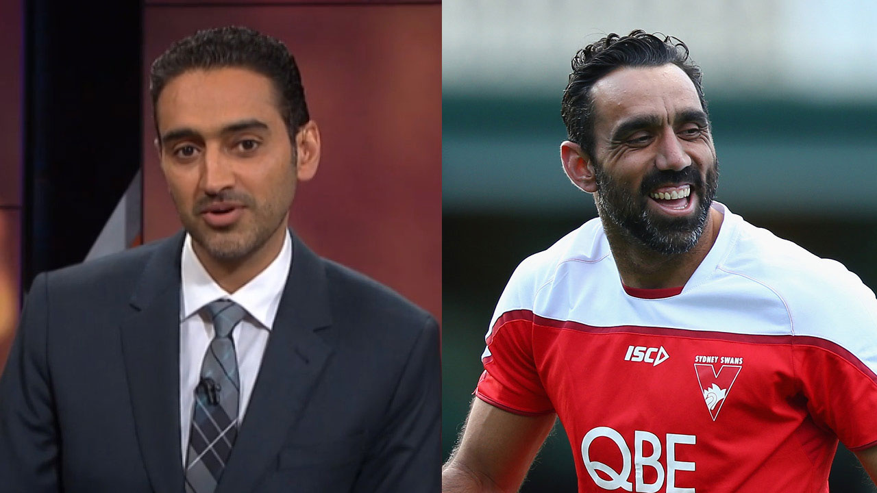Waleed Aly's challenge after Adam Goodes' documentary