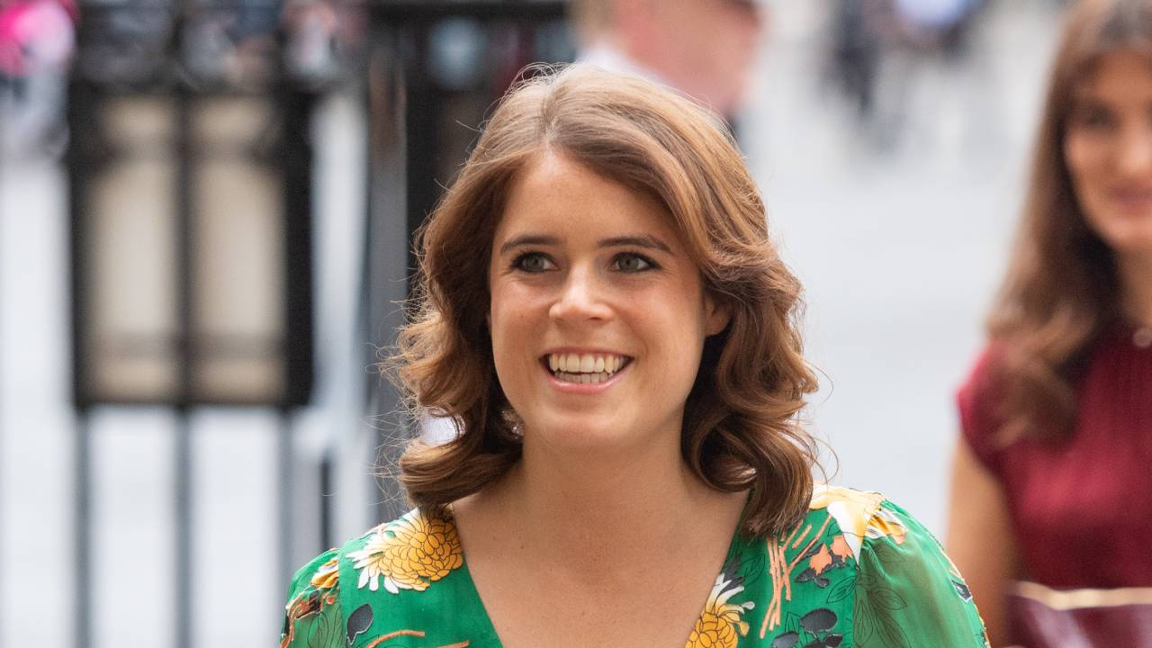 Glowing in green: Princess Eugenie turns heads in floral for surprise engagement