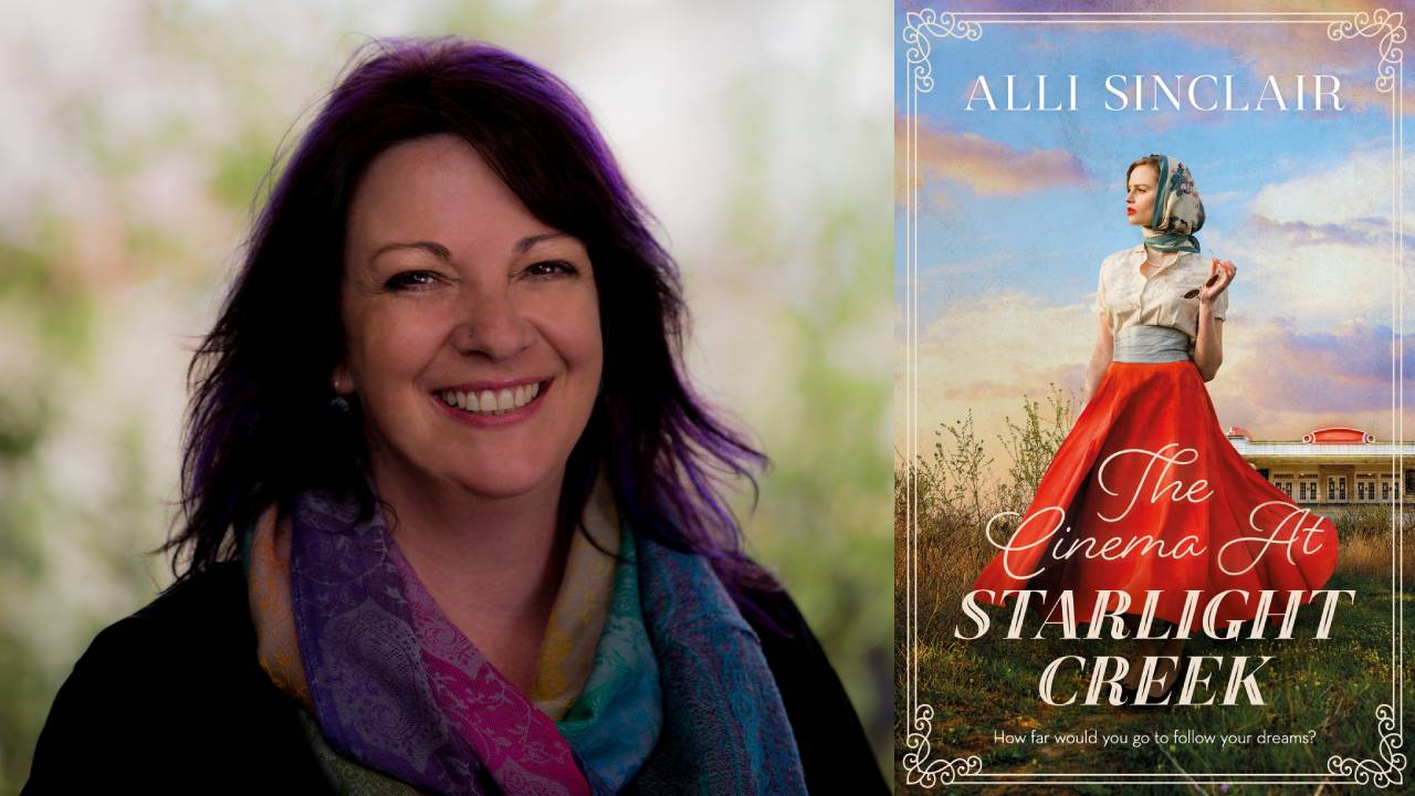 5 minutes with author Alli Sinclair