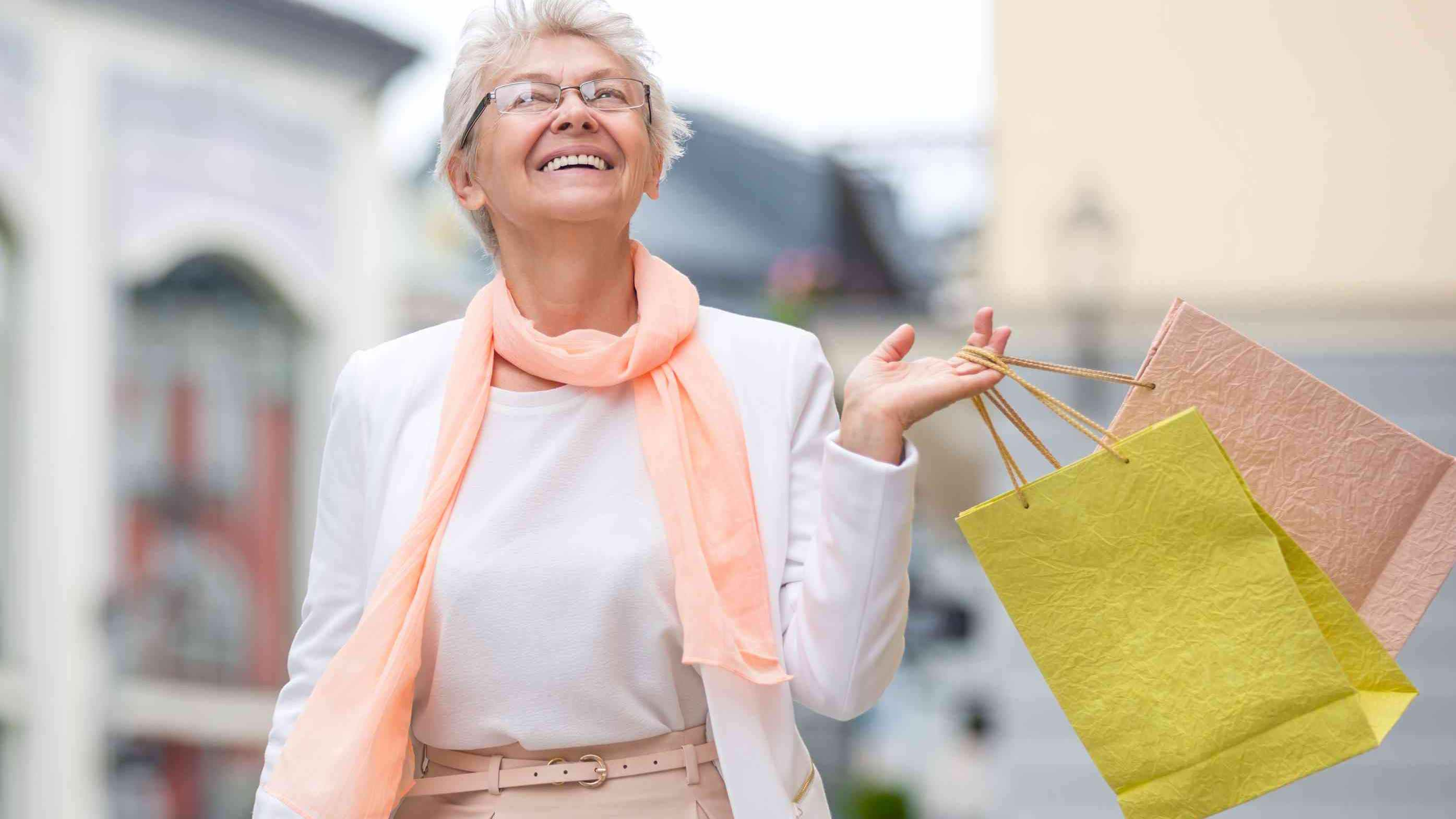 Styling tips for over-60s – be confident in what you wear