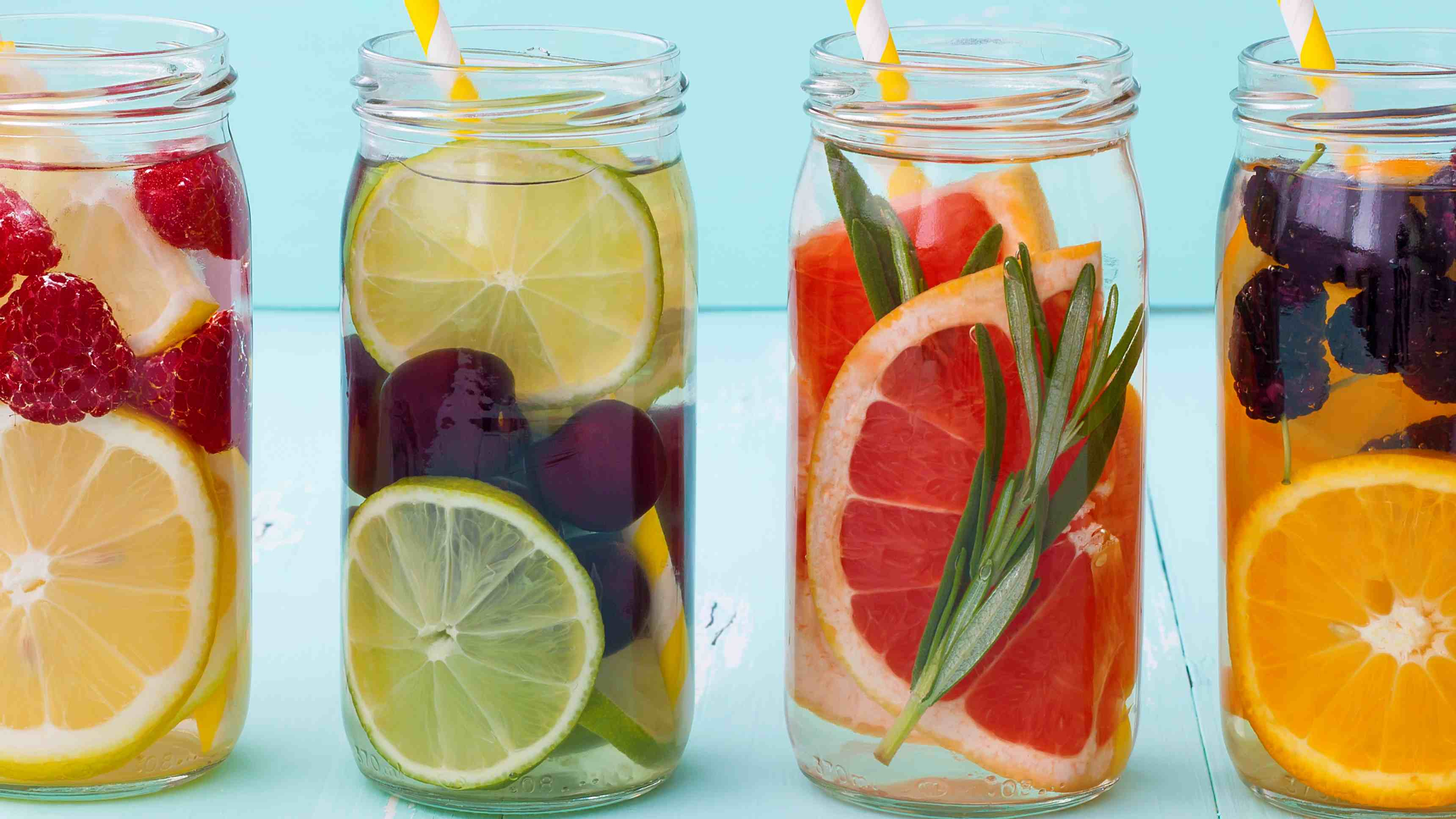 Refresh with naturally flavoured water