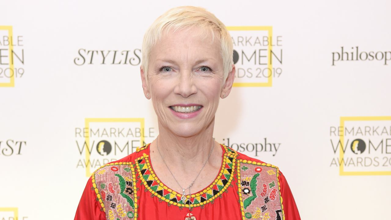 Spitting image: Annie Lennox's daughter makes glamorous arrival at red carpet event