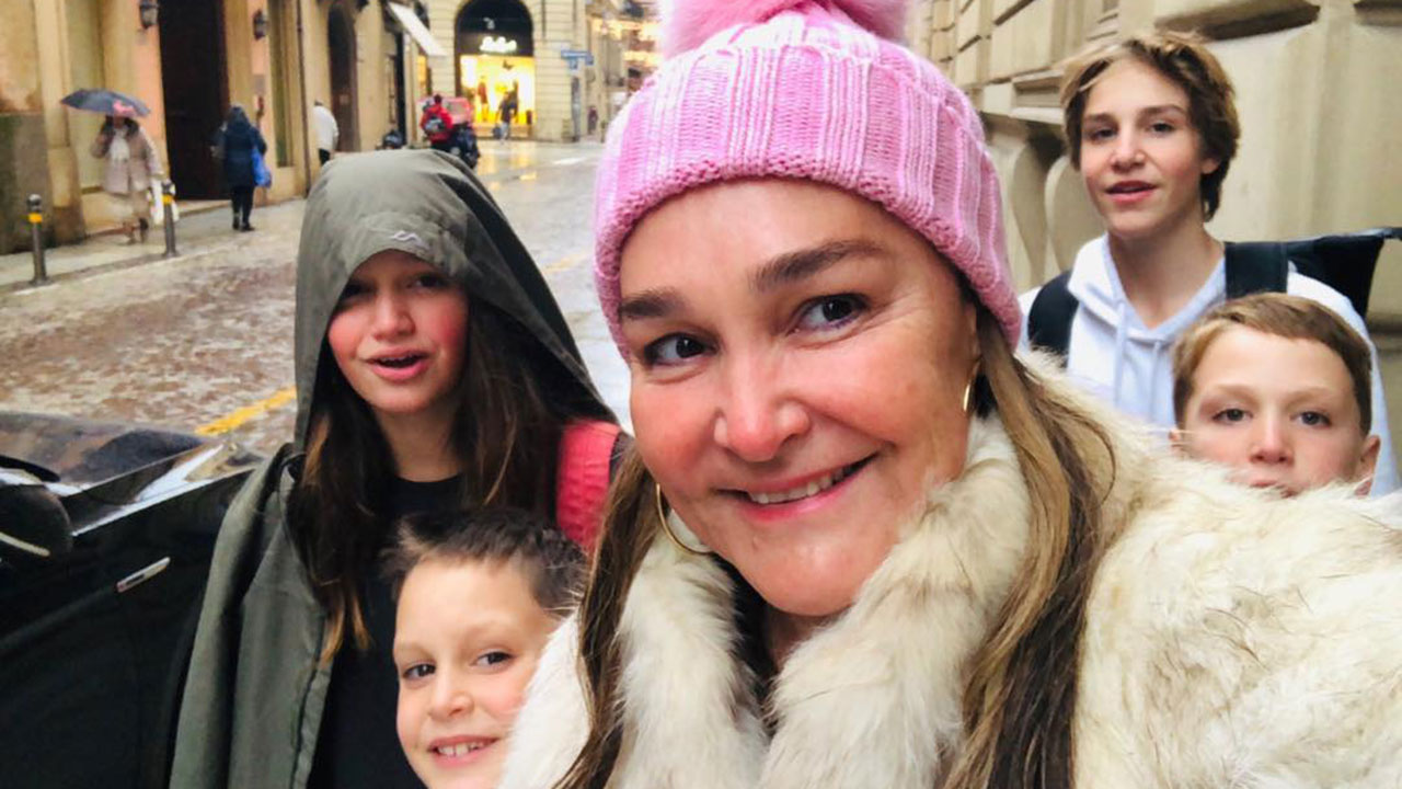"""""""You want to die"""": Kate Langbroek shares intimate details about son's cancer battle"""