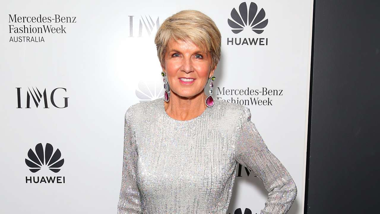 Julie Bishop's big new job! First woman to hold the position