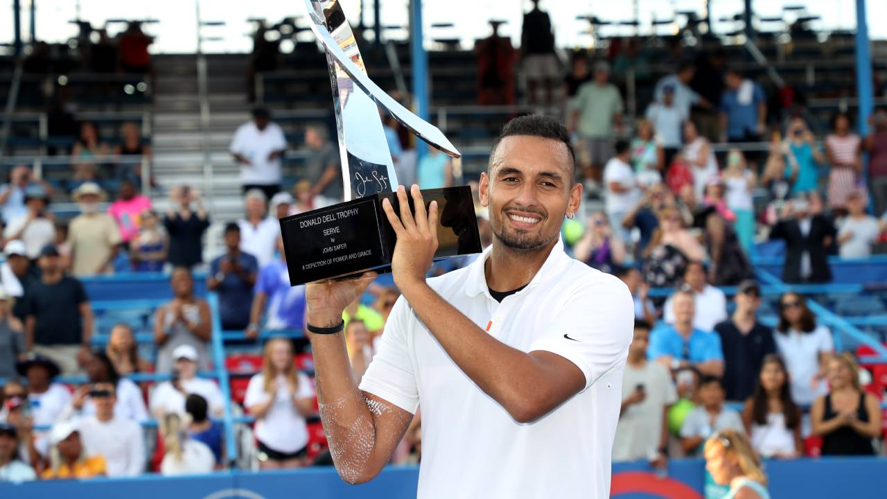 """I've made massive strides"": Nick Kyrgios' stunning victory"