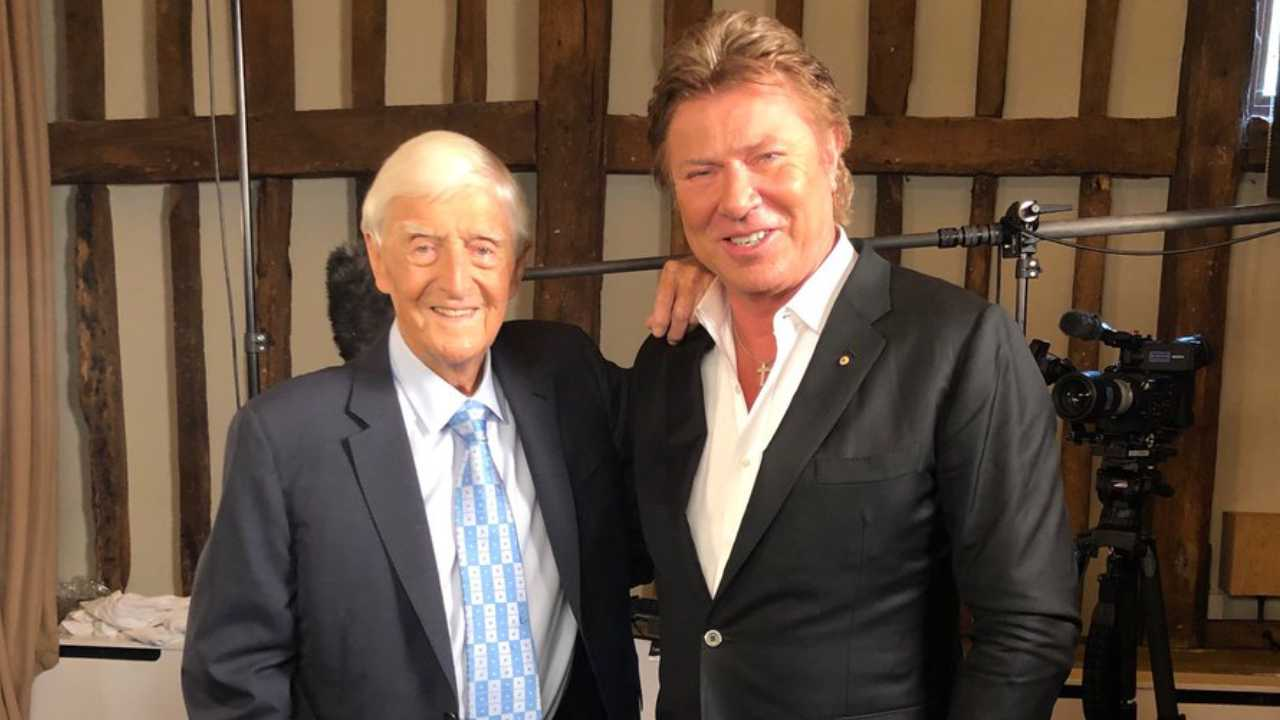 Richard Wilkins asks Sir Michael Parkinson a question he's never been asked before