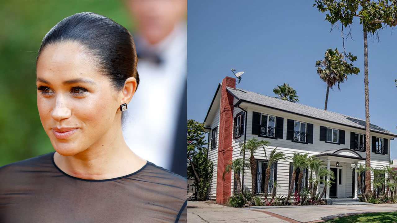 Inside Duchess Meghan's $2.7 million Los Angeles home