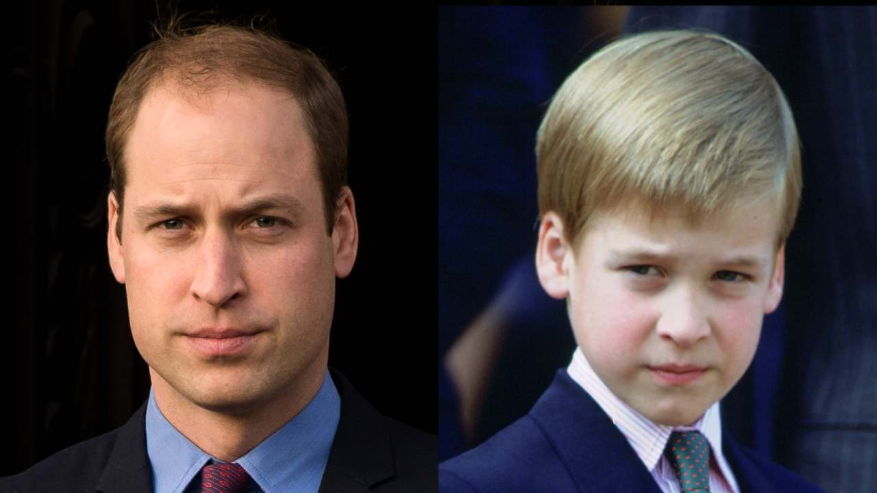 Royal throwback! Prince William's most adorable childhood moments