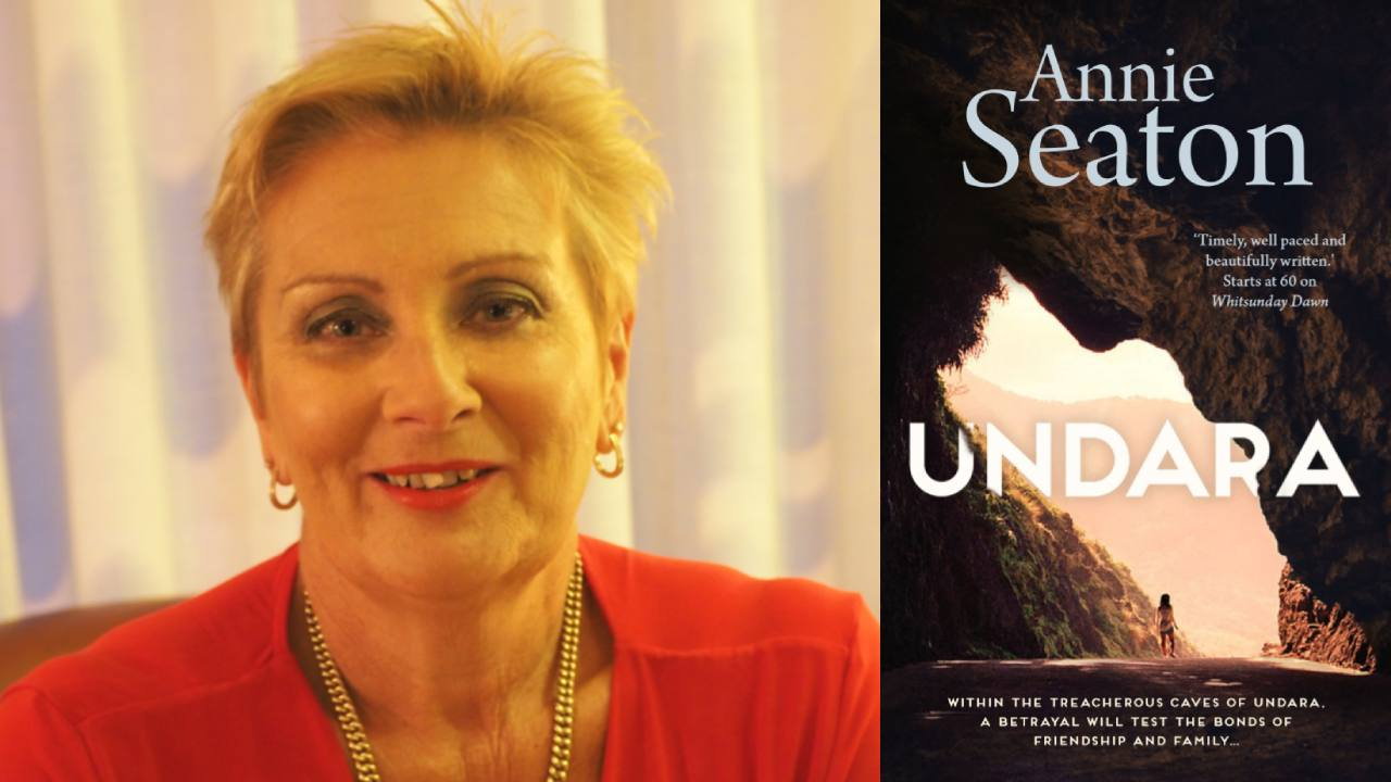5 minutes with author Annie Seaton