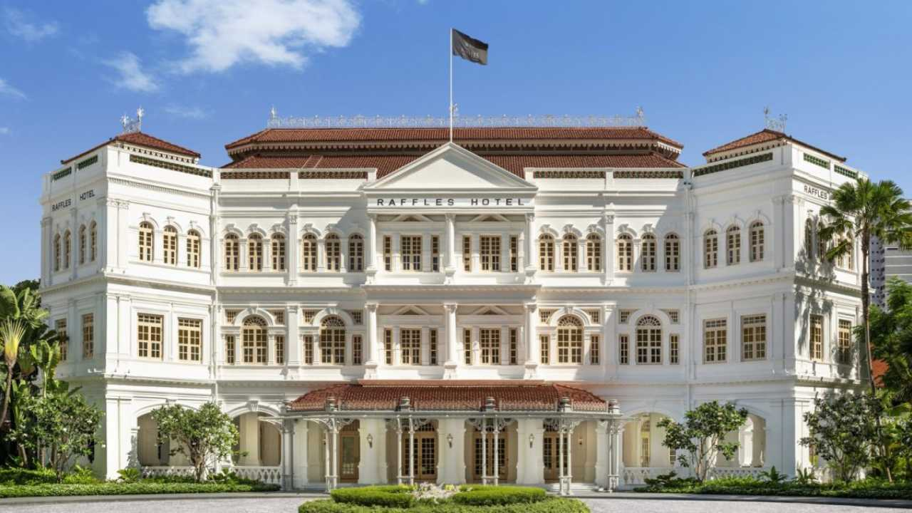 Singapore's historic Raffles Hotel reopens its doors