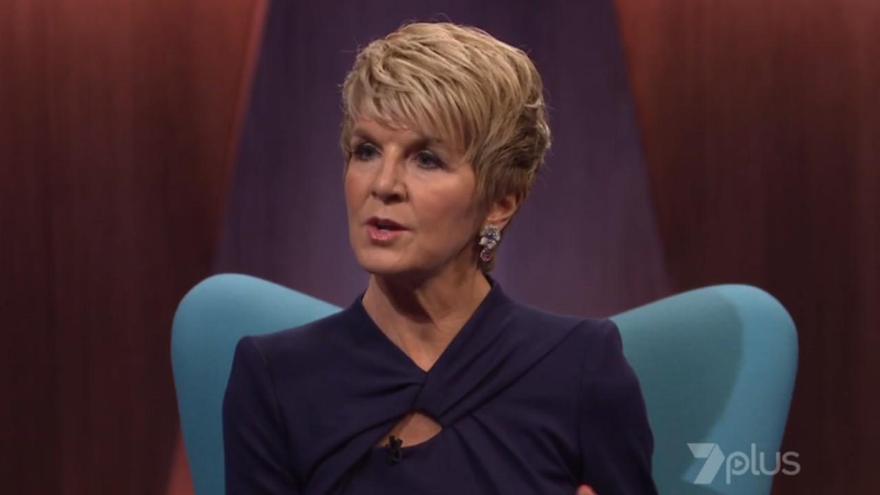 """Pathetic"": Julie Bishop slams ""gender deafness"" and misogyny in Australian politics"
