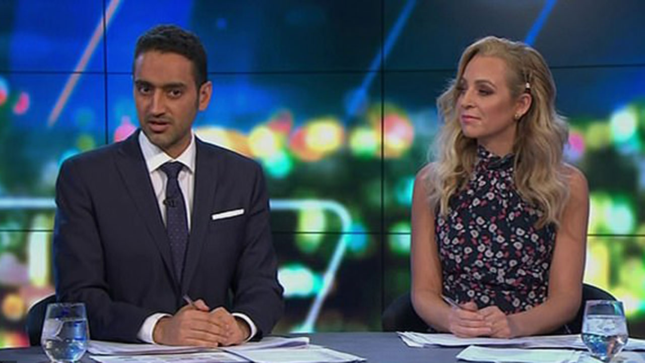 """""""Can't imagine myself doing it"""": Waleed Aly praises heroic civilians after Sydney stabbing"""