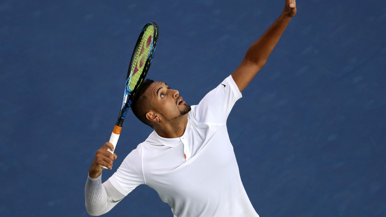 """Happy to get through"": Nick Kyrgios back to his best at Cincinnati Open"