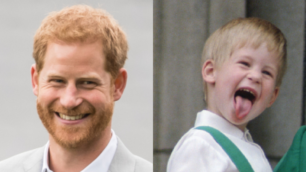 royal throwback prince harry s most adorable childhood moments oversixty royal throwback prince harry s most