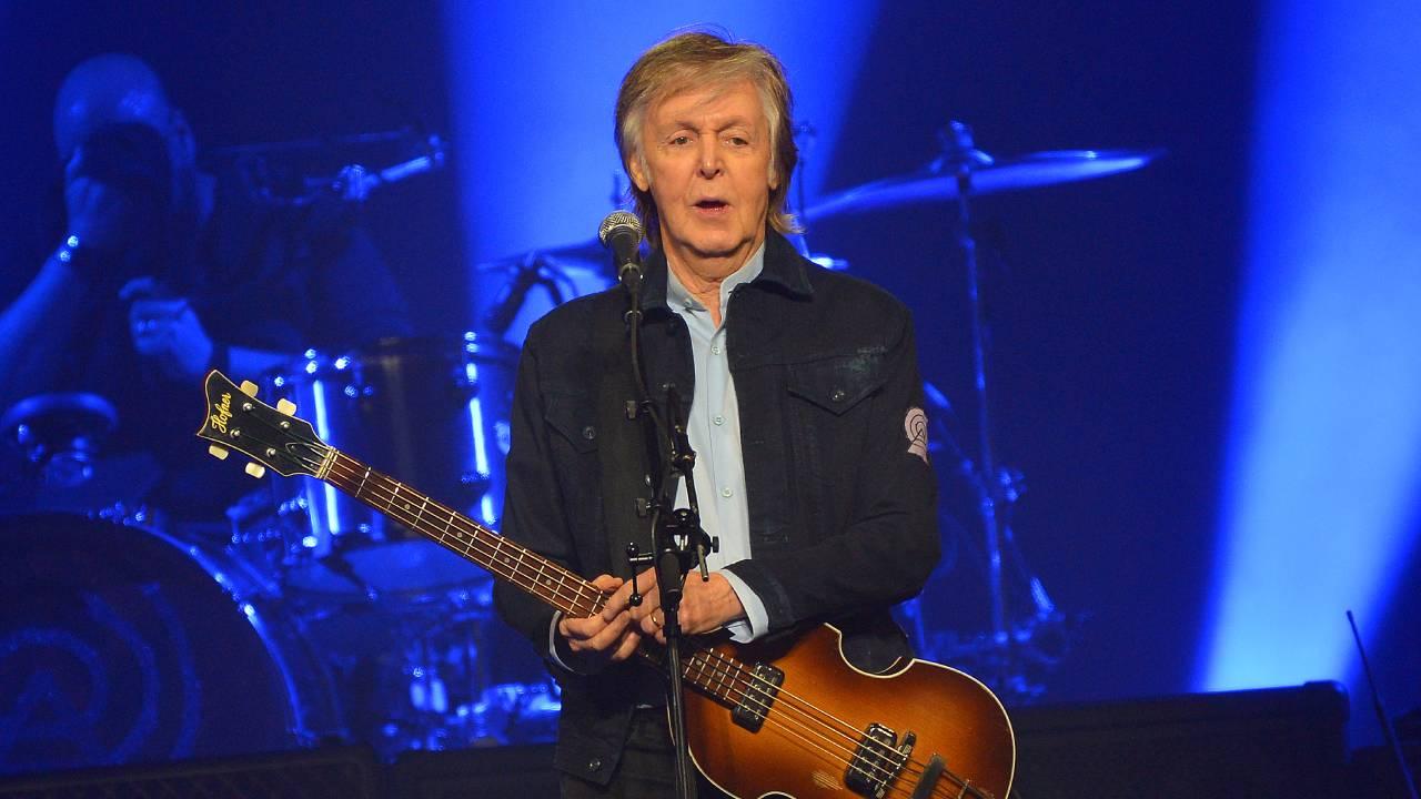 Former Beatle Paul McCartney is writing a musical