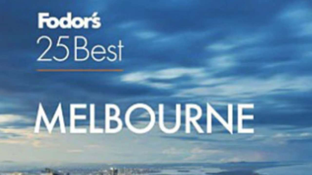 Whoops: Fodor's 2019 guide to Melbourne debuts with a photo of the Gold Coast on the cover
