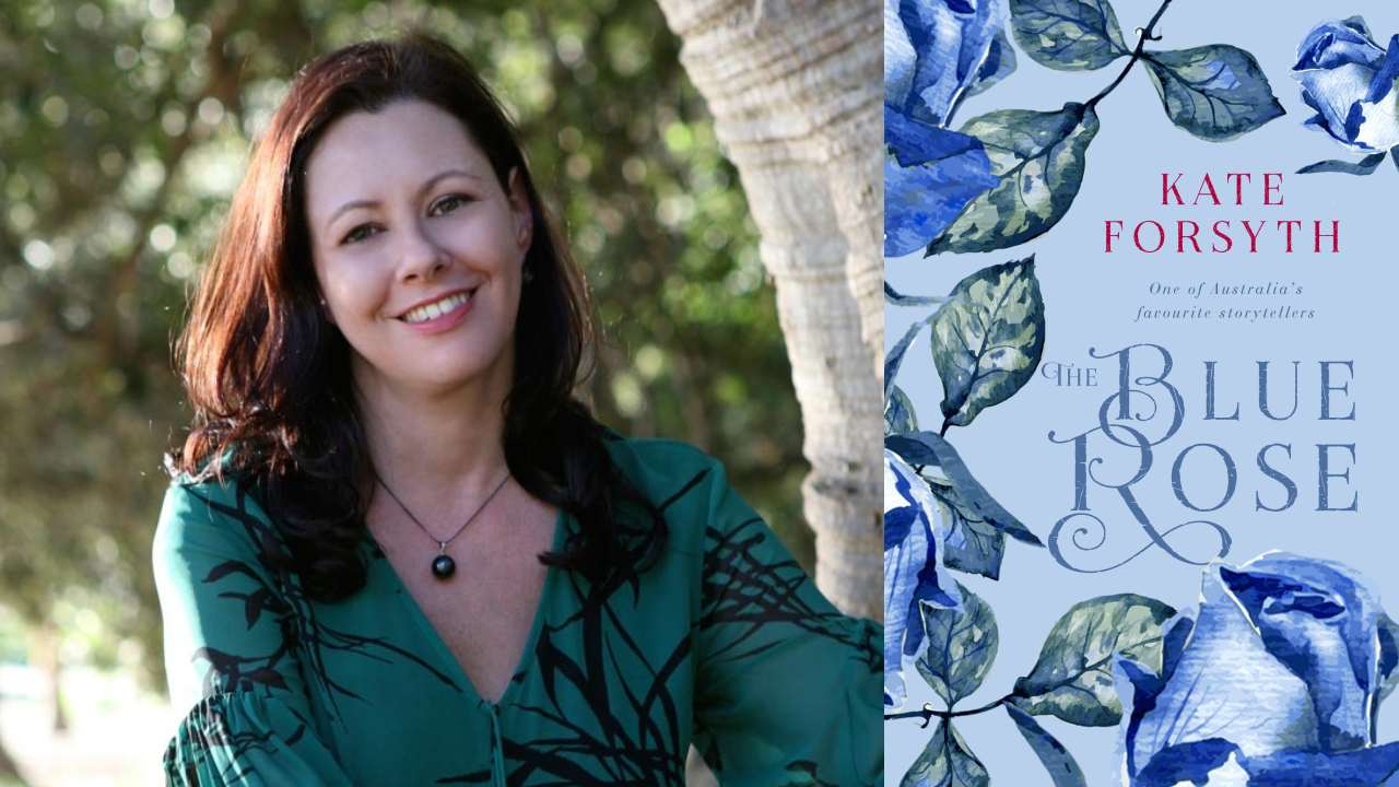 5 minutes with author Kate Forsyth