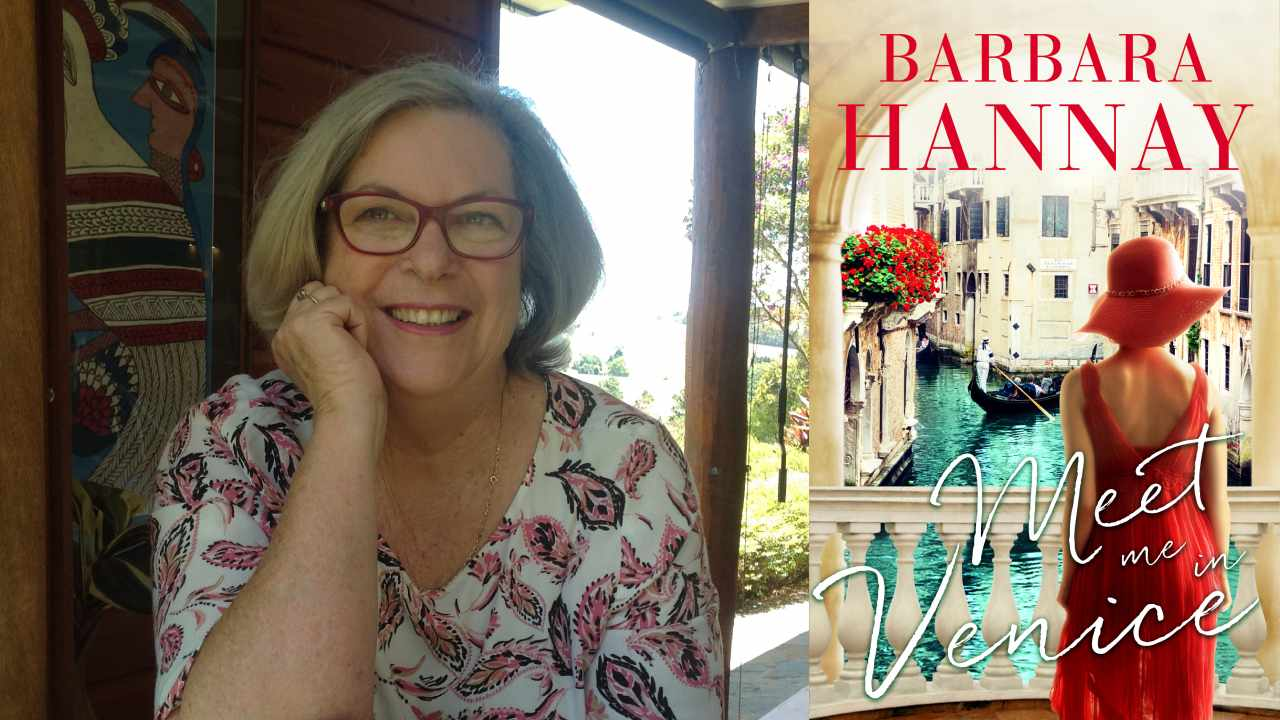 5 minutes with author Barbara Hannay
