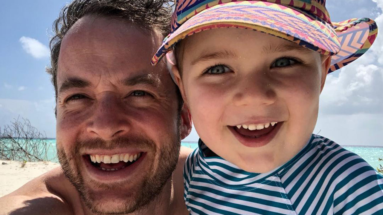 "Hamish Blake shares hilarious Father's Day ""report card"" from his son Sonny"