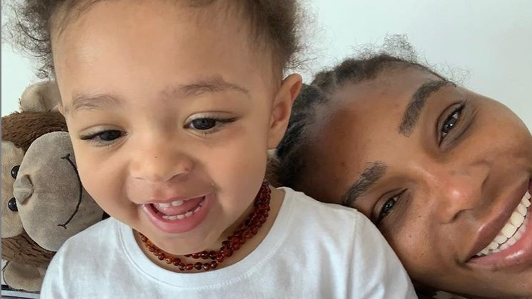 Serena Williams' heartwarming tribute to two-year-old daughter