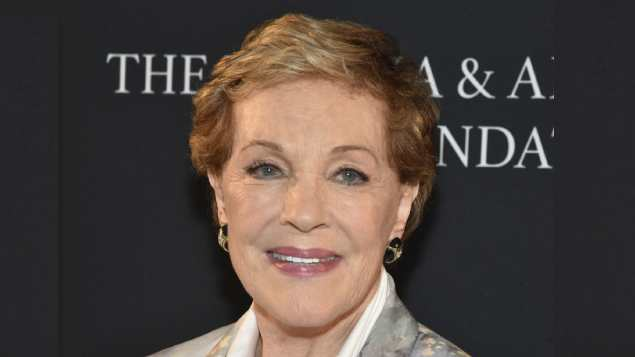 Julie Andrews receives special honour at 83