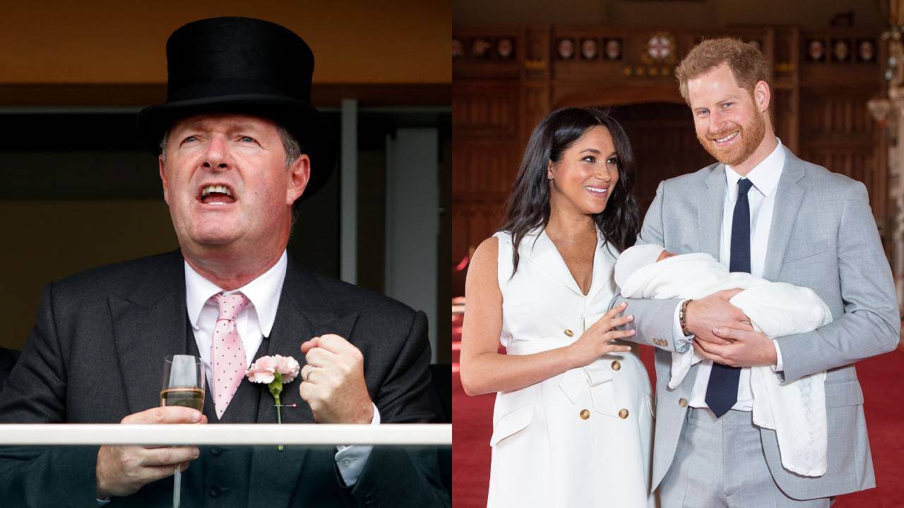"Piers Morgan slams Prince Harry as ""hypocrite"" over private jet use"