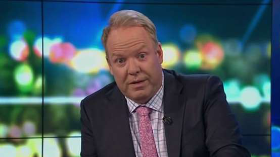 Rare moment as funnyman Peter Helliar is brought to tears on The Project