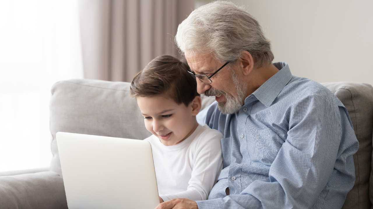 How can we protect our grandchildren to be safe from online predators?