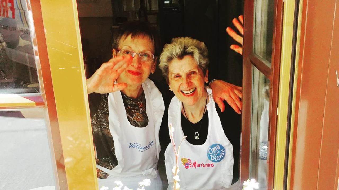 The Austrian bakery being run by grandmas