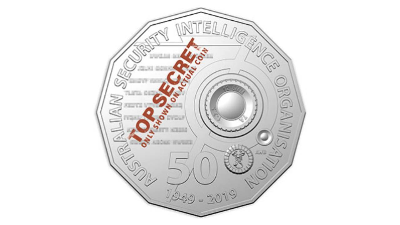 Royal Australian Mint launches new 50-cent coins with secret code