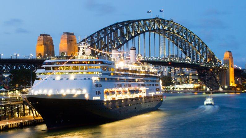 Ship shape to Australia