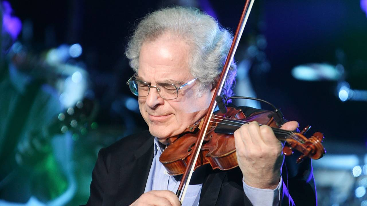 """Music brings everybody together"": Violinist Itzhak Perlman explains the magic of music"