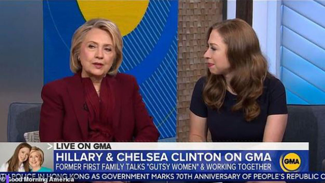 Hillary Clinton says the gutsiest thing she ever did was stay with Bill after Monica Lewinsky scandal
