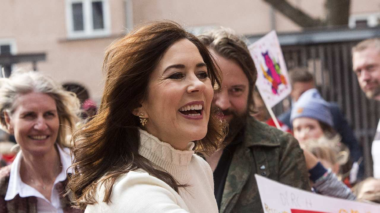 One step closer to being Queen! Princess Mary receives new honour