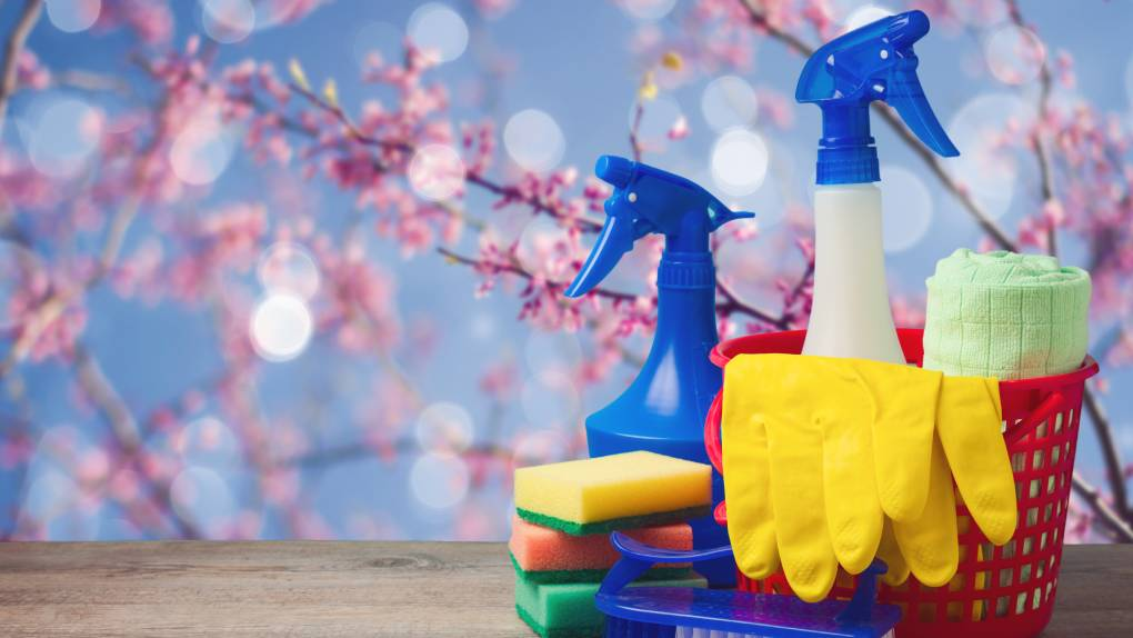 Spots to never skip when spring cleaning