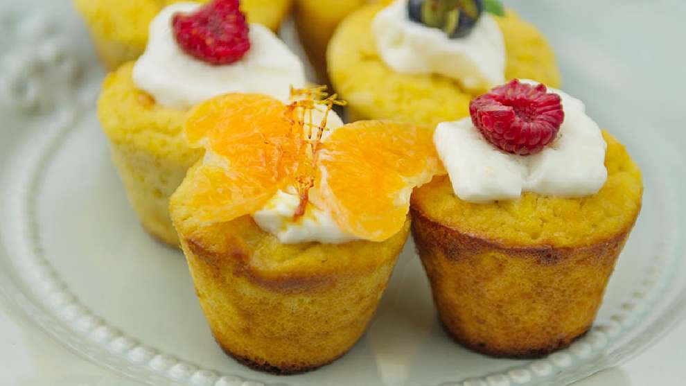 4 Ingredients: Try these mandarin friands