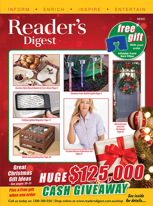 Reader's Digest Catalogue - Christmas 2019