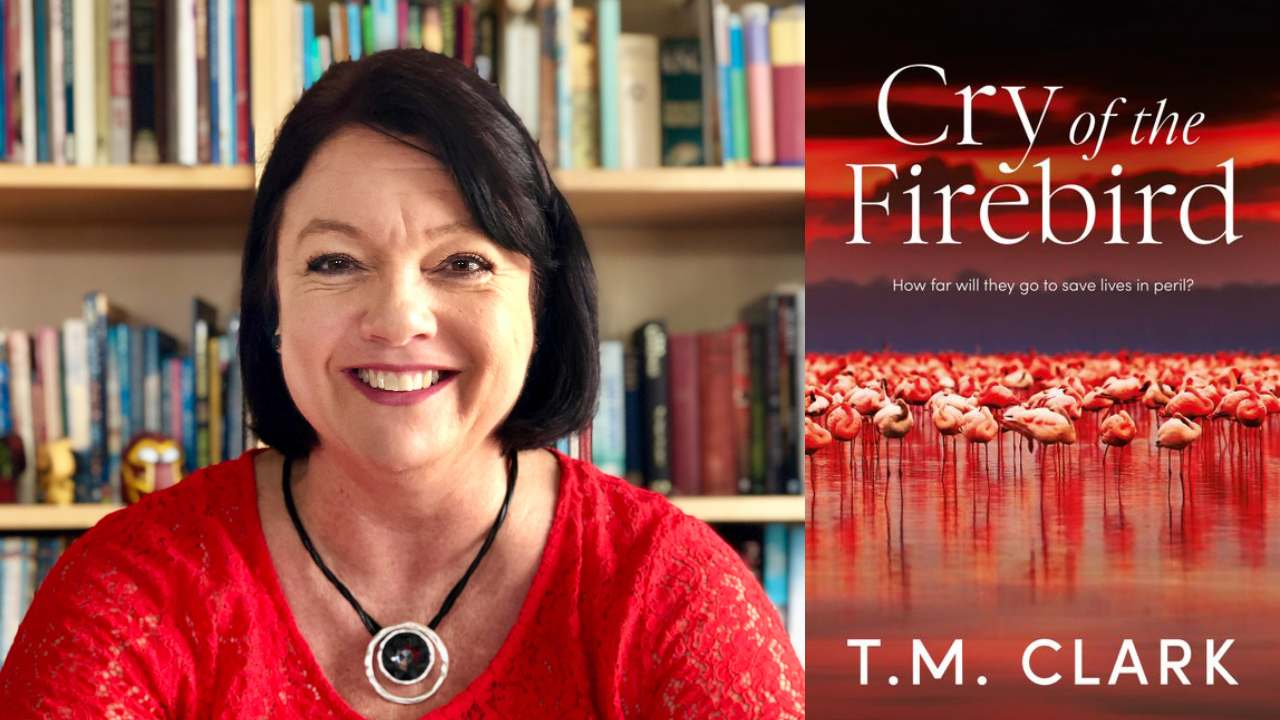 5 minutes with author T.M. Clark