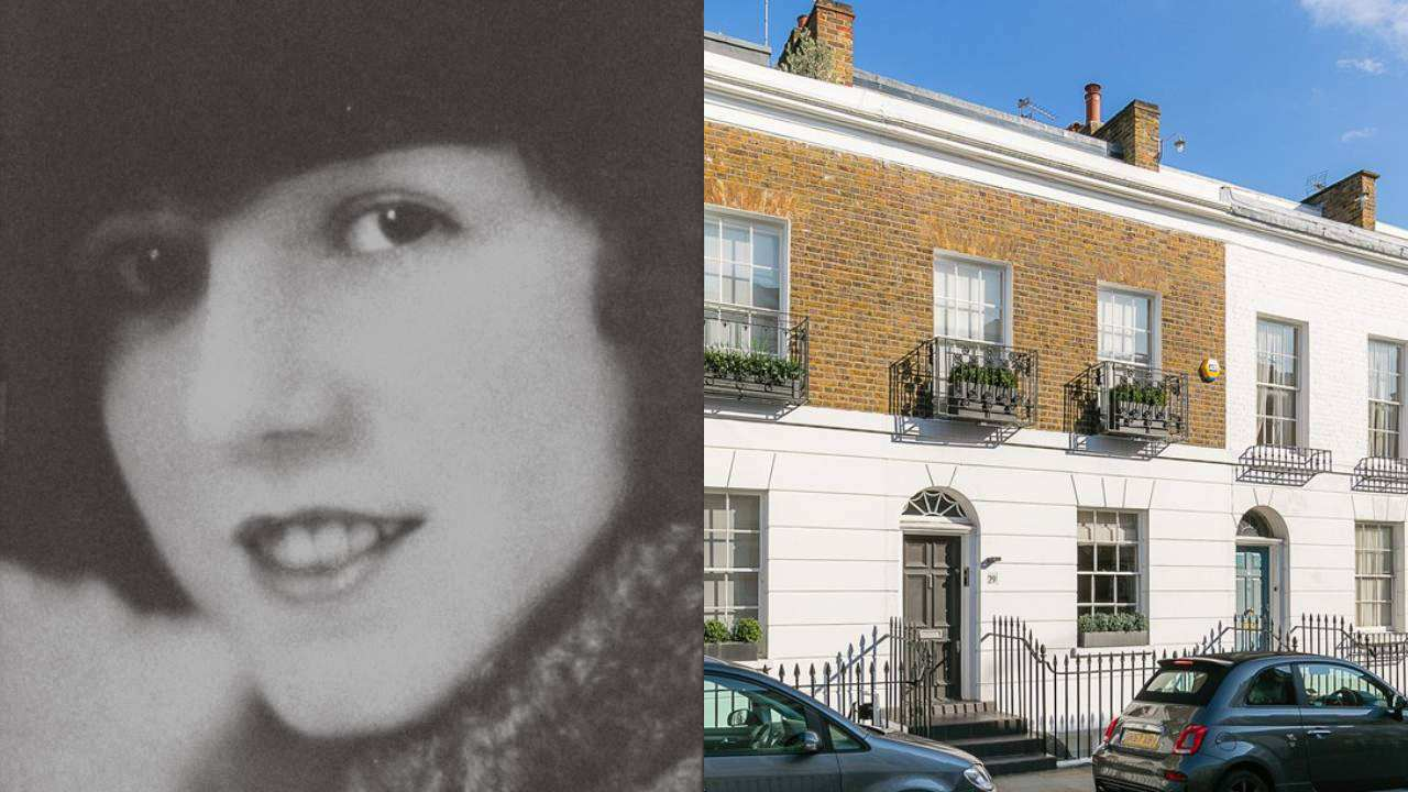 Mary Poppins author P.L Travers' London home for sale