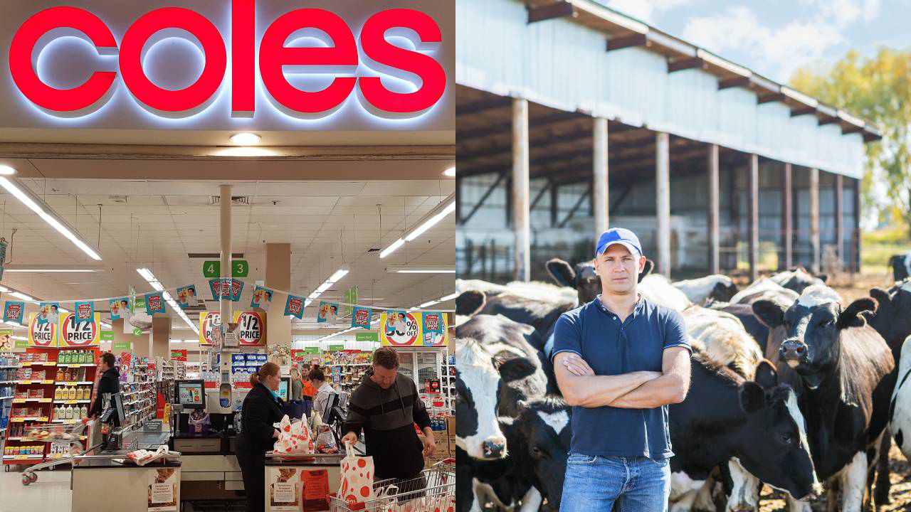 Call to boycott Coles: Drought Minister appalled as supermarket giant fails to help dairy farmers