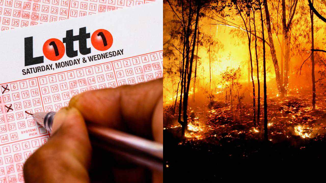 """Just perfect"": Family affected by bushfires surprised by $1 million lotto win"