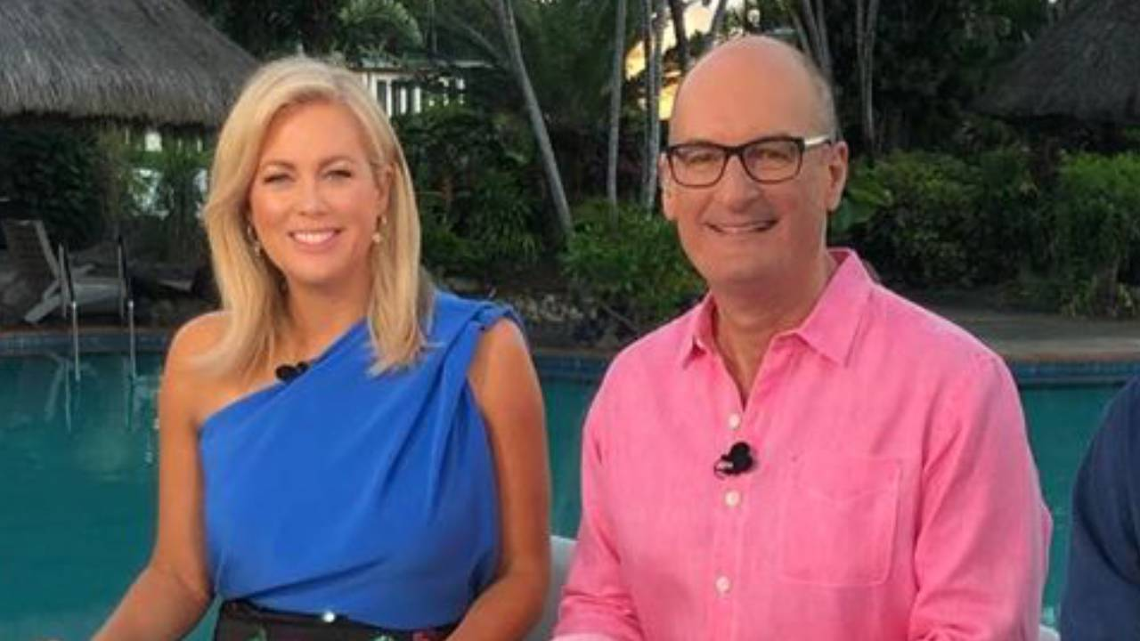 Sam Armytage and David Koch reveal the secret code they use live on air