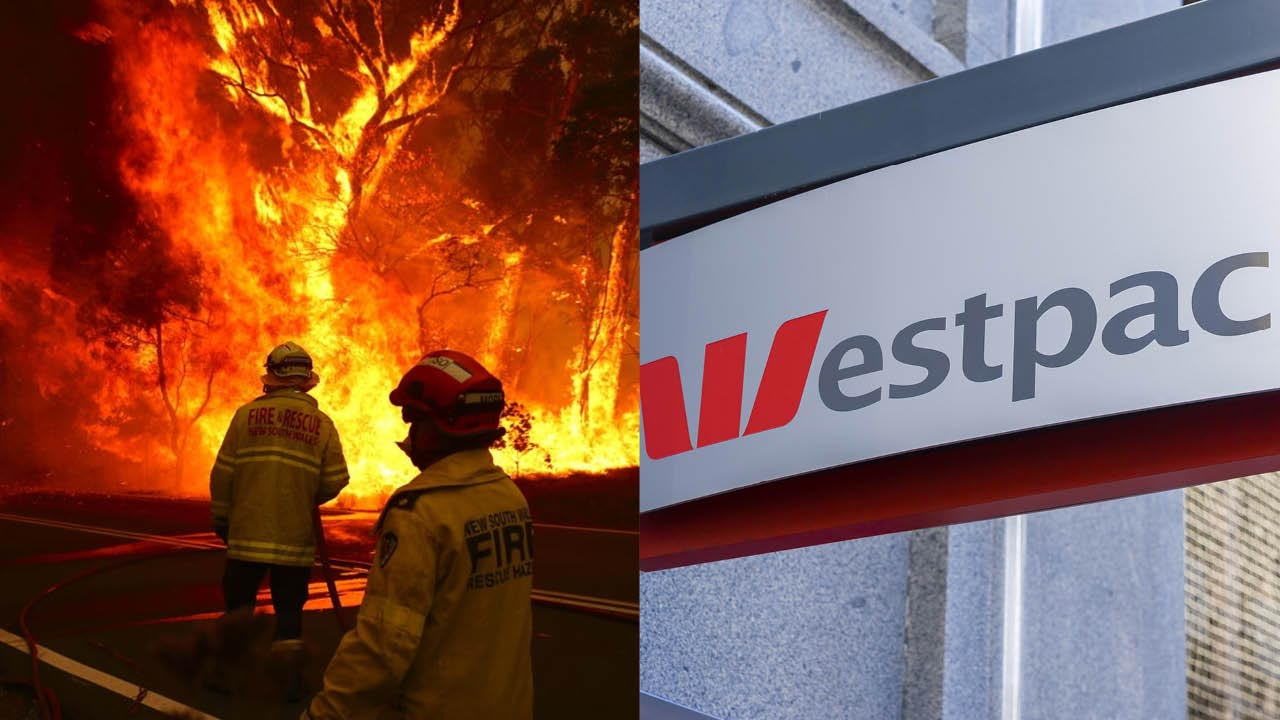Westpac to pay one year off mortgages for fire-affected customers