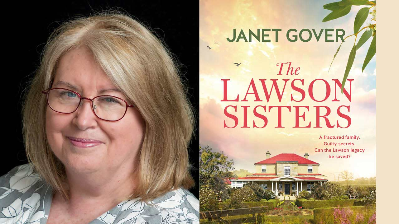 5 minutes with author Janet Gover