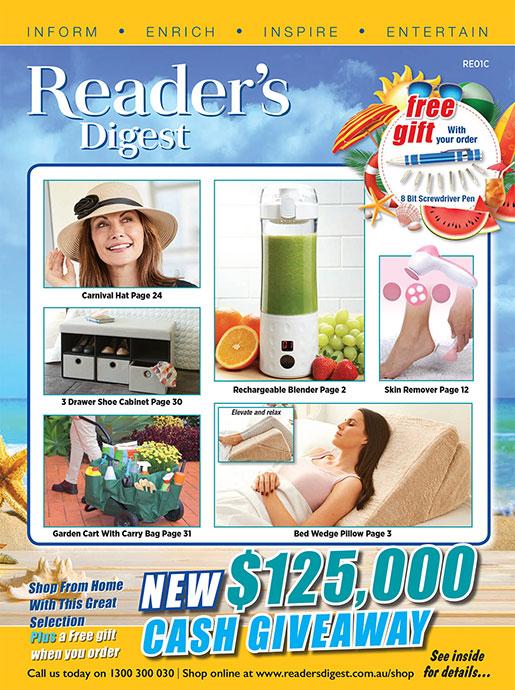 Reader's Digest Catalogue - Summer 2020